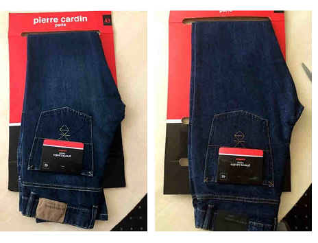 23277 - PIERRE CARDIN JEANS PANT STOCK USA