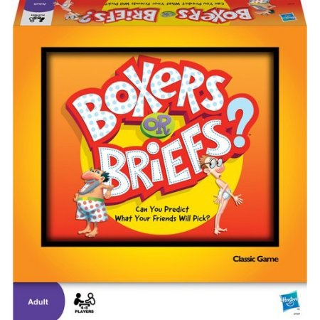 24991 - Boxers Or Briefs Hasbro Game USA