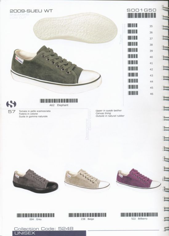 27089 - SUPERGA + KAPPA STOCK Europe