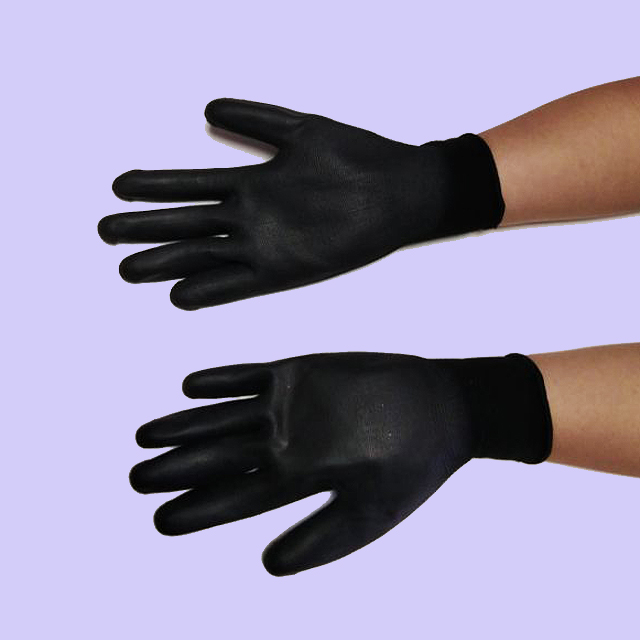 30070 - Polyester Anti-static Gloves of Stock China