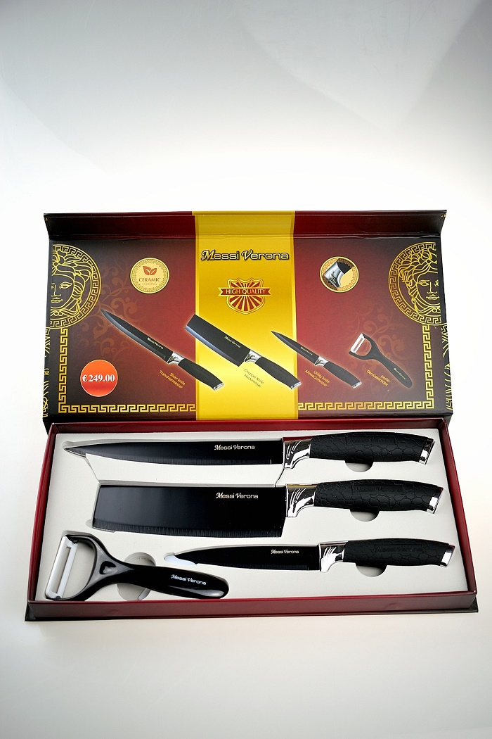 32413 -  Knife set 4PCS MESSI VERONA Europe