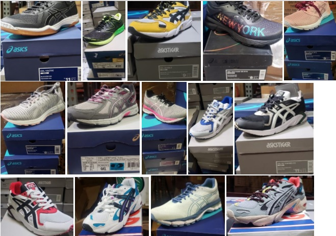 33983 - ASICS MENS & WOMENS ASSORTED SNEAKERS USA