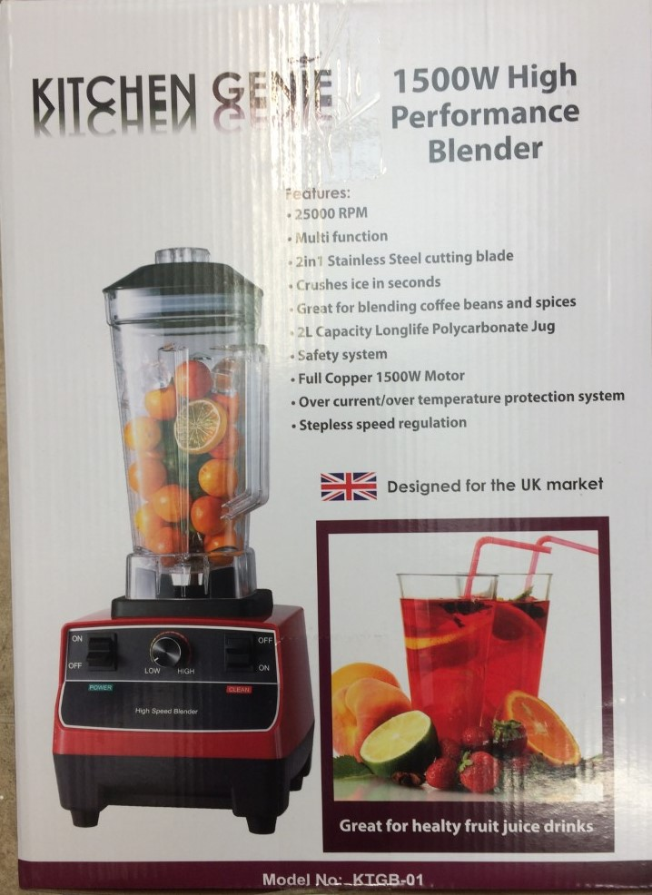 34159 - HIGH POWER BLENDER Europe