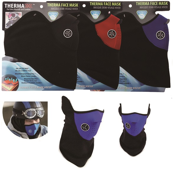 39193 - Thermaxxx Windproof Half Face Mask w/ Vent USA