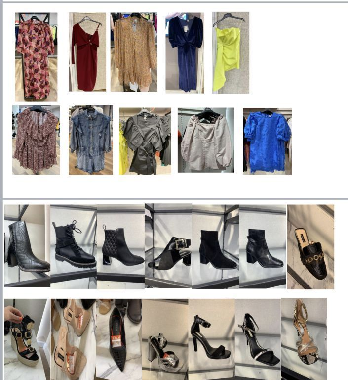 40506 - A Grade - Fresh RIVER Island, ladies and mens SS/AW Europe